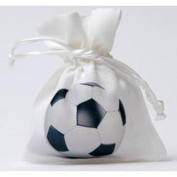 Sacchetto portaconfetti calcio